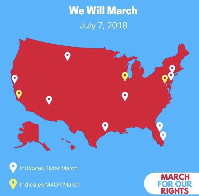 Where are you marching